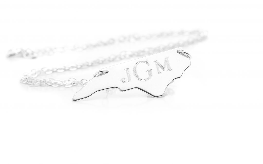 North Carolina Necklace – Sterling Silver